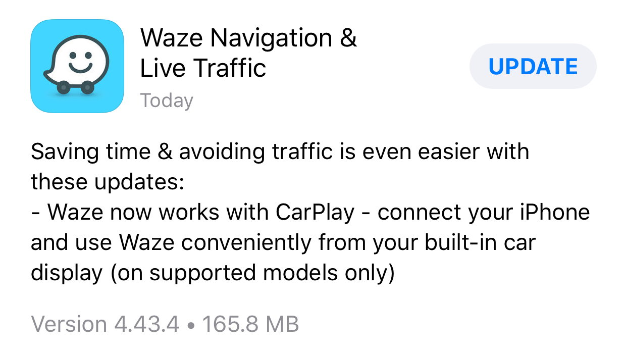 Waze available for Apple CarPlay! Go get it! - CorvetteForum