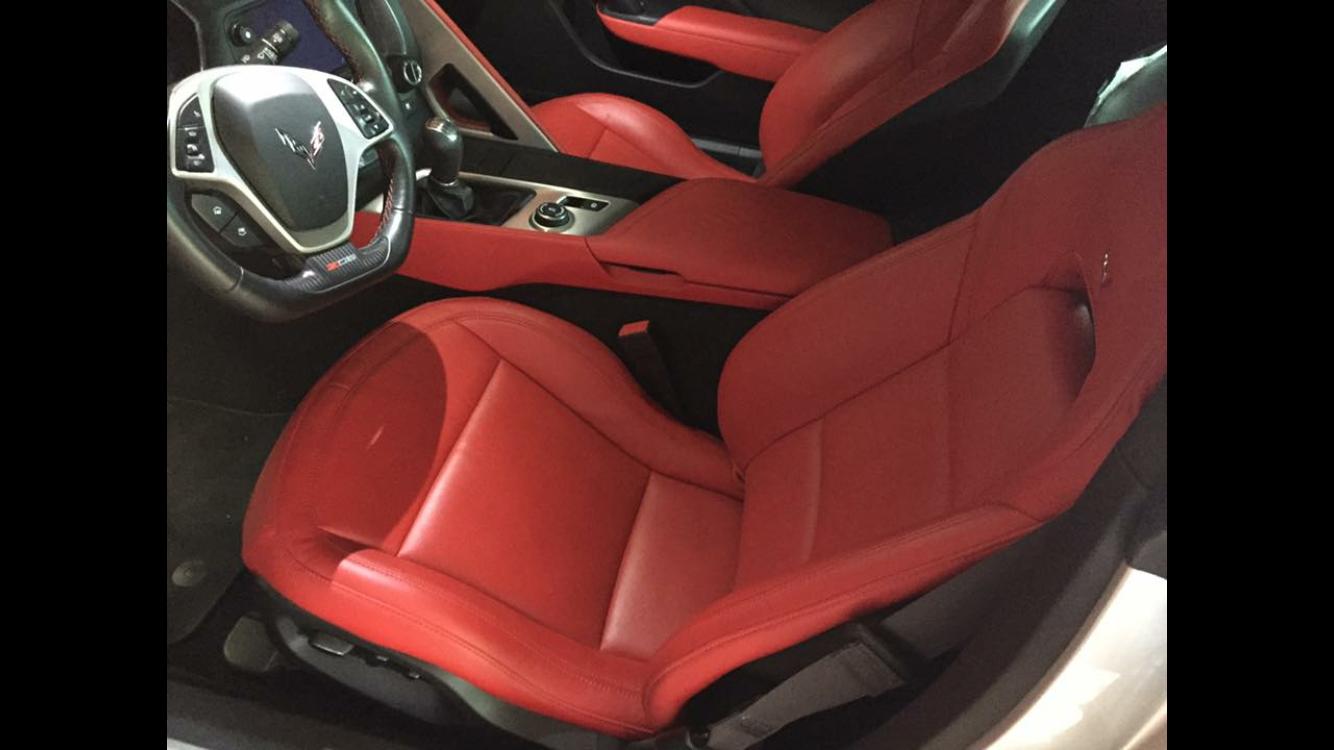 Adrenaline Red interior... Help me convince the fianc?e ...