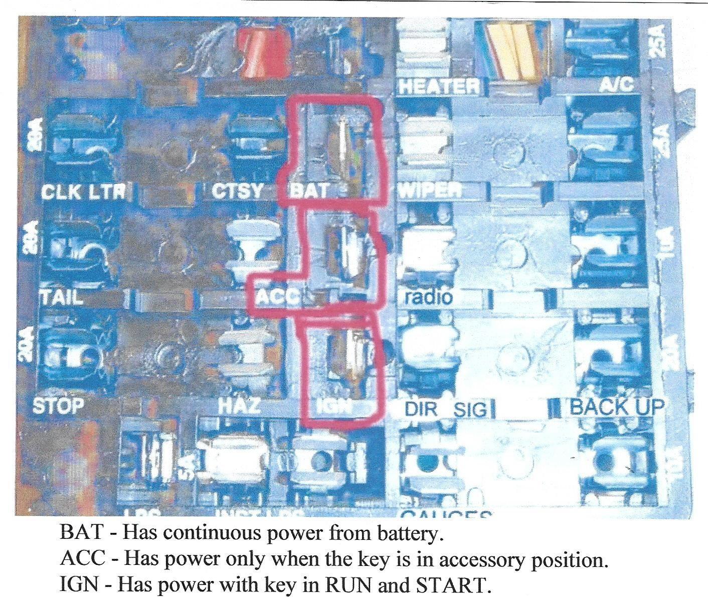 Hot wiring a 76 Corvette. - CorvetteForum - Chevrolet ...