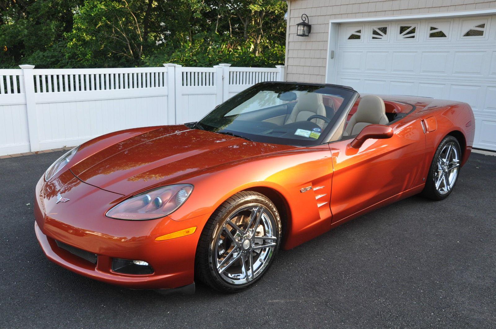 fs 3lt 2006 corvette convertible daytona orange loaded hud nav z06 rims corvetteforum. Black Bedroom Furniture Sets. Home Design Ideas