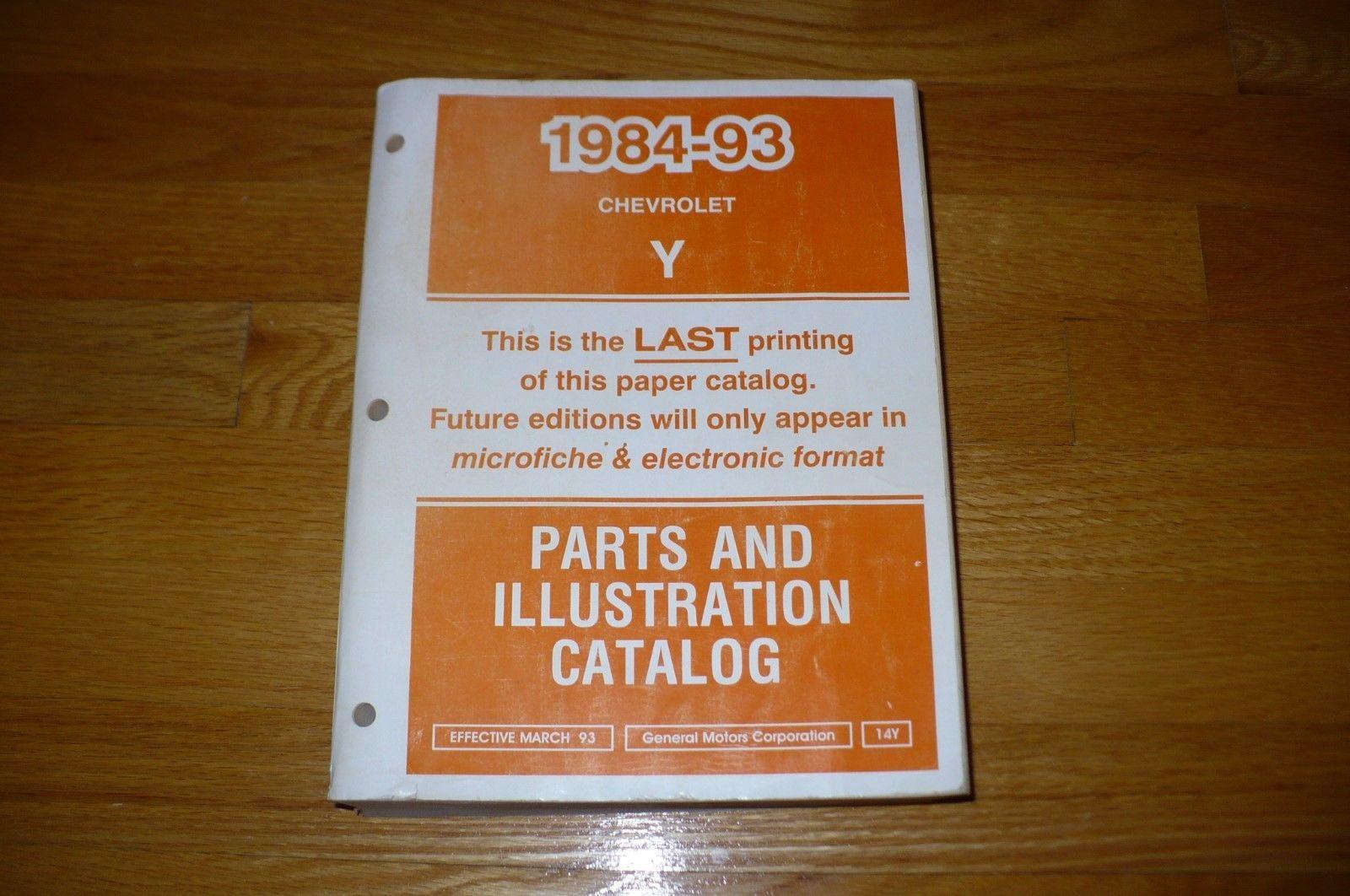 gm parts microfiche