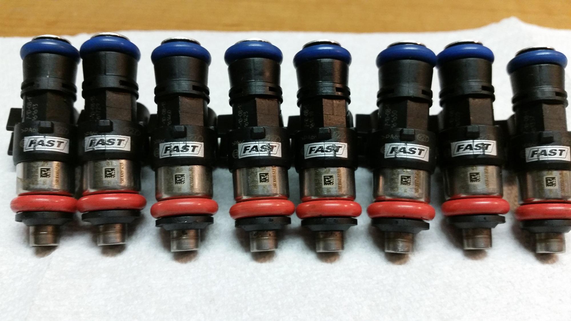 FS FAST 80527 - 8 Fuel injectors set of 8 65 lb/hr (682 5cc