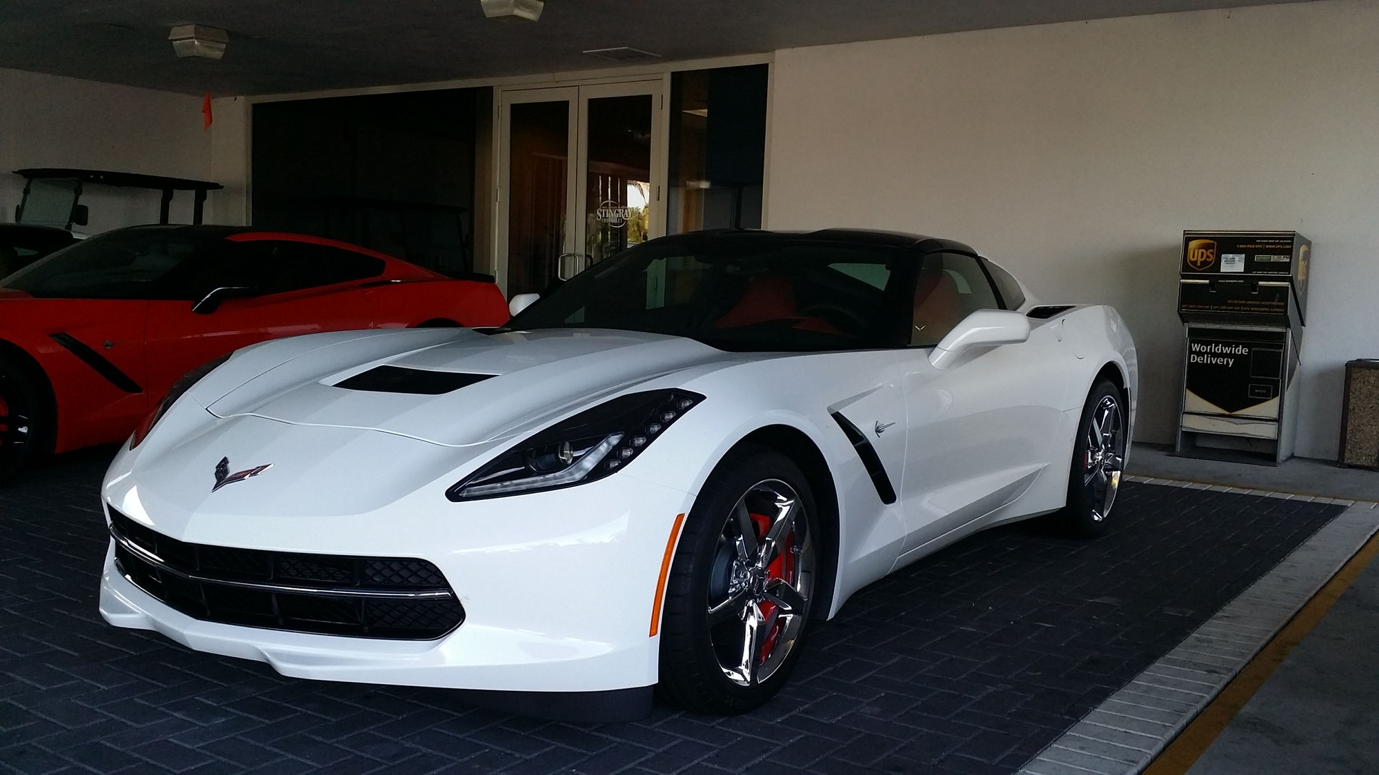 Available 2015 corvettes at stingray chevrolet plant city 2014 corvette white with red interior