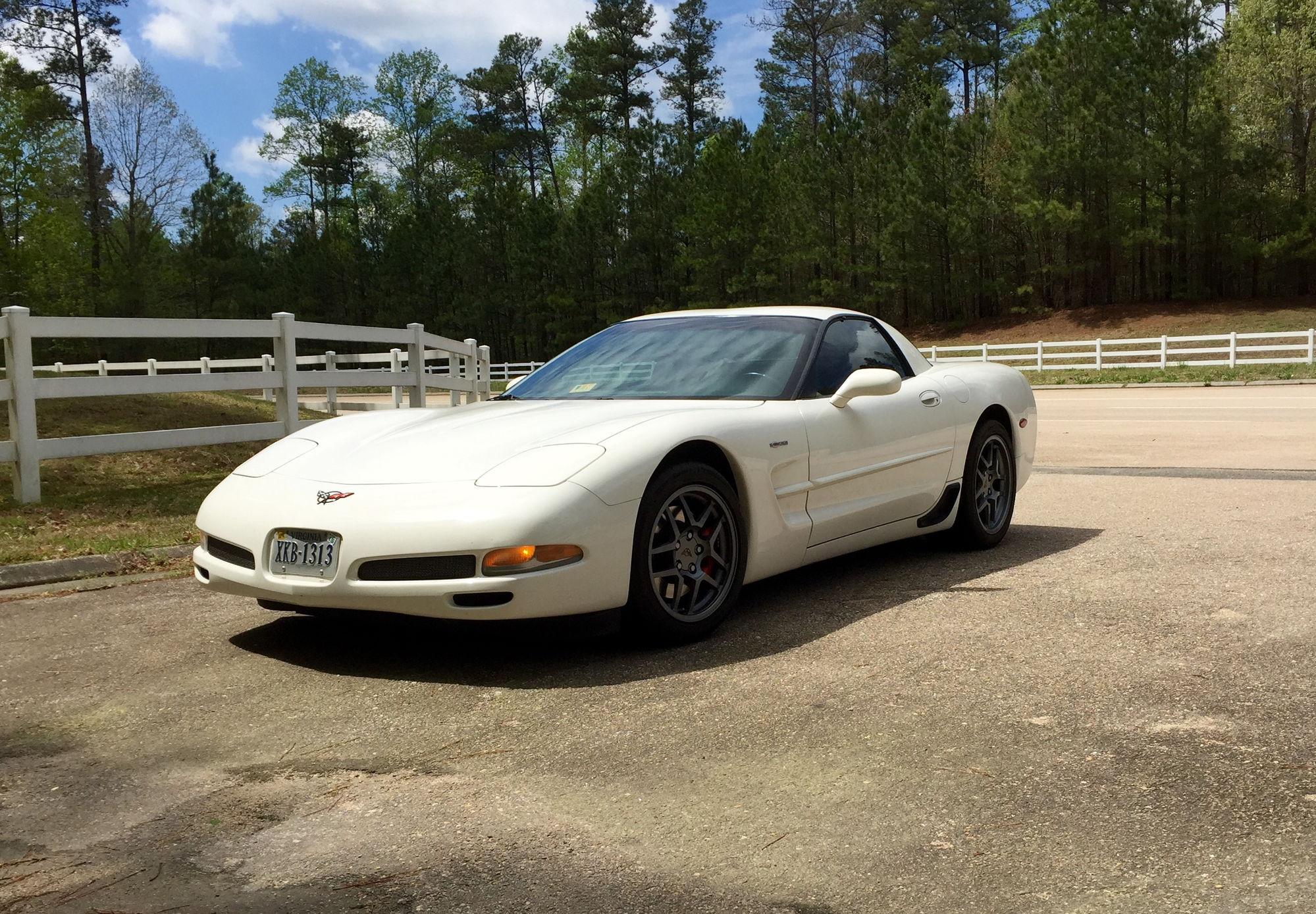 2001 Sw Speedway White Z06 Mod Red Richmond Va