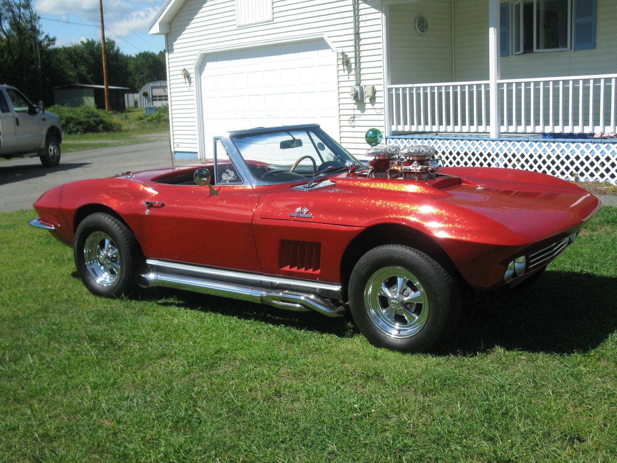 Wanted custom corvette hot rod drag car corvetteforum for Car paint company