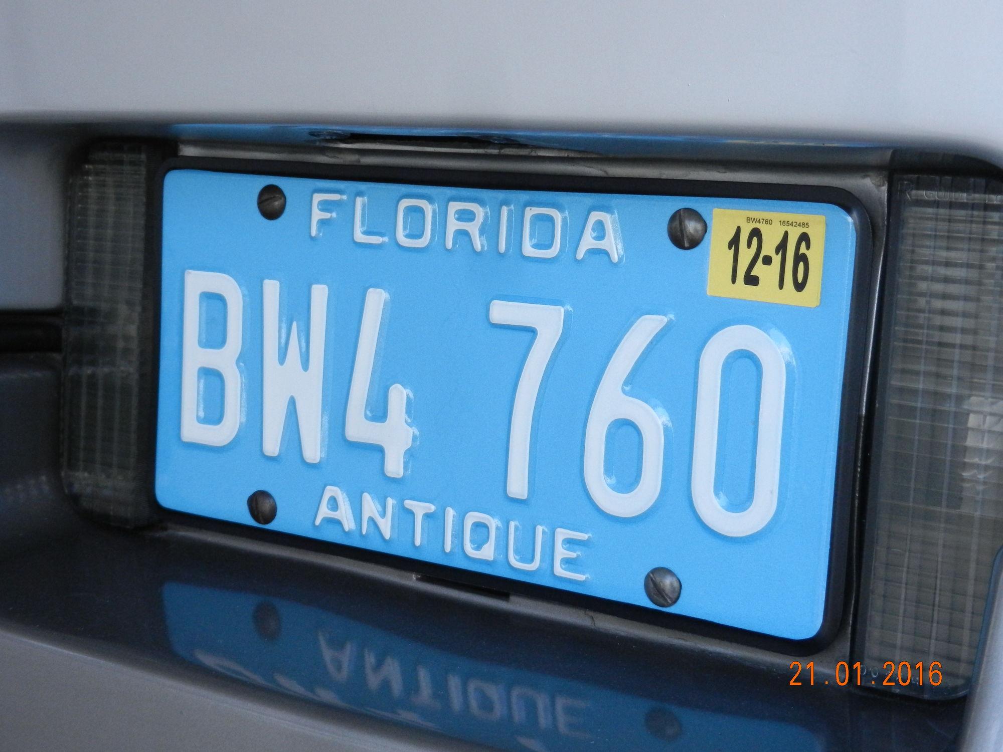 Antique/historic plates. - CorvetteForum - Chevrolet Corvette Forum ...