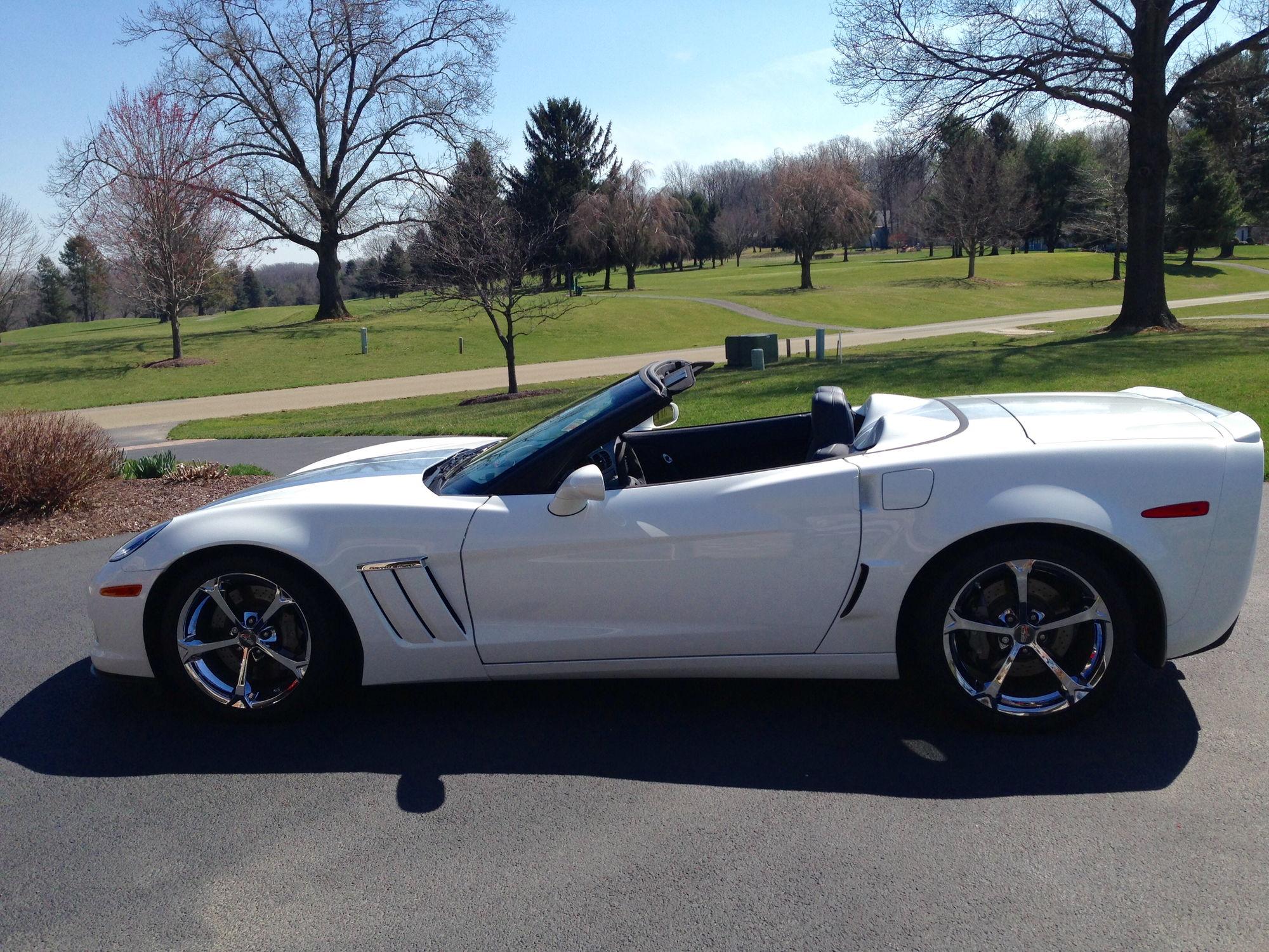 f s 2013 60th anniversary grand sport convertible 4lt 6spd 9600 miles corvetteforum. Black Bedroom Furniture Sets. Home Design Ideas