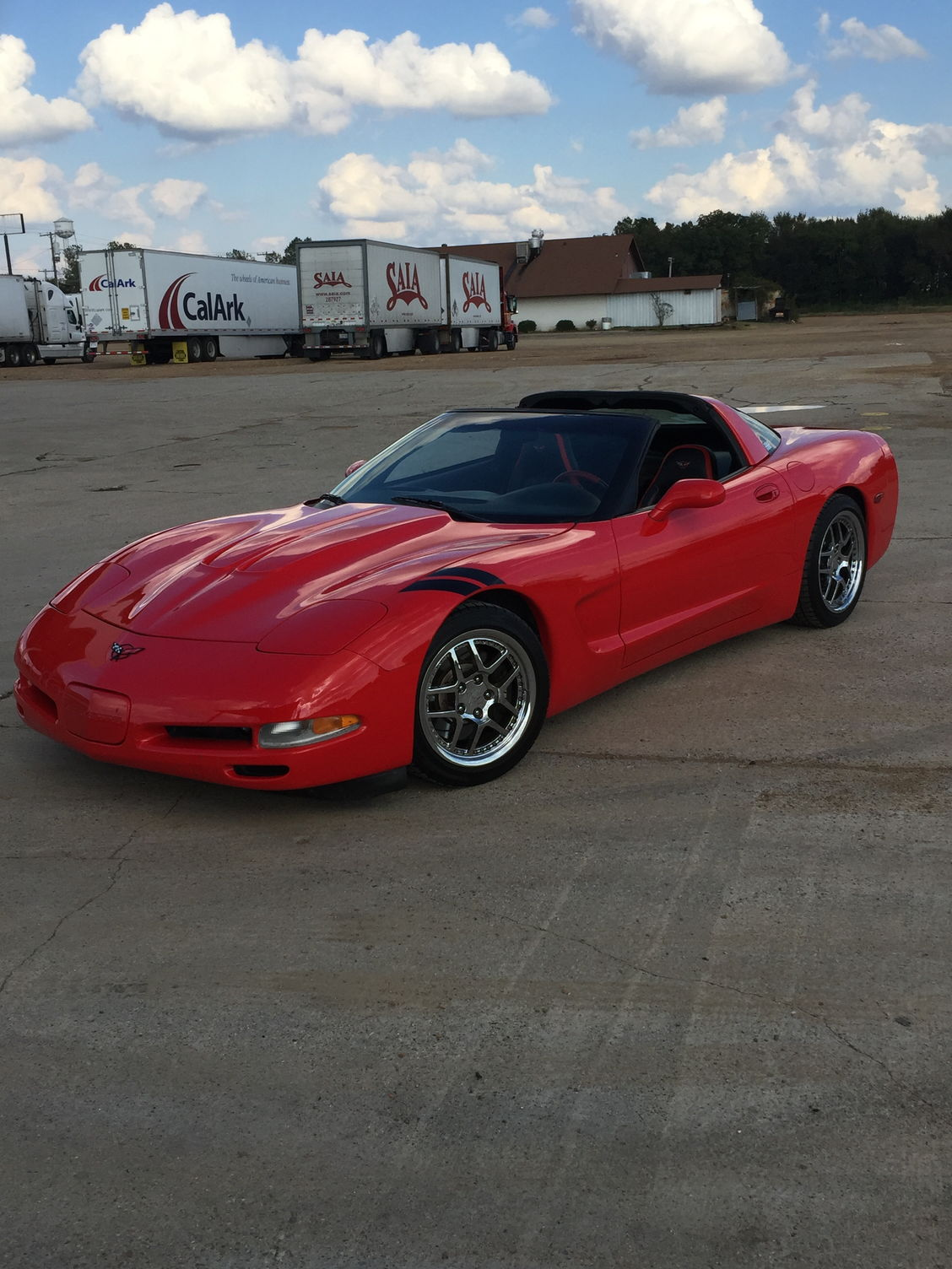 Like New Custom C5 Corvette Seats Black Torch Red Corvetteforum Chevrolet Corvette Forum