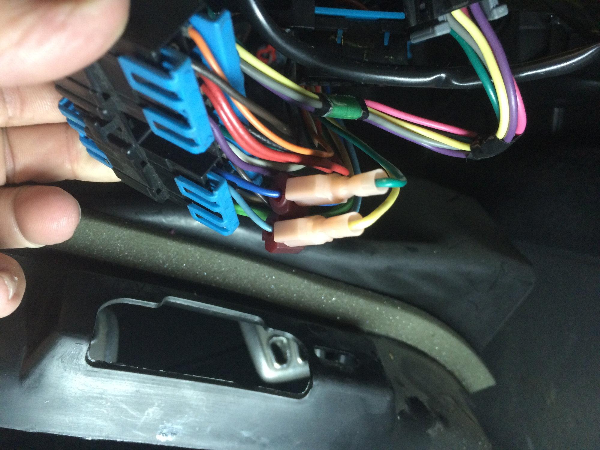 Outstanding Yellow And Green Wires Under Dash Board Corvetteforum Wiring 101 Kniepimsautoservicenl