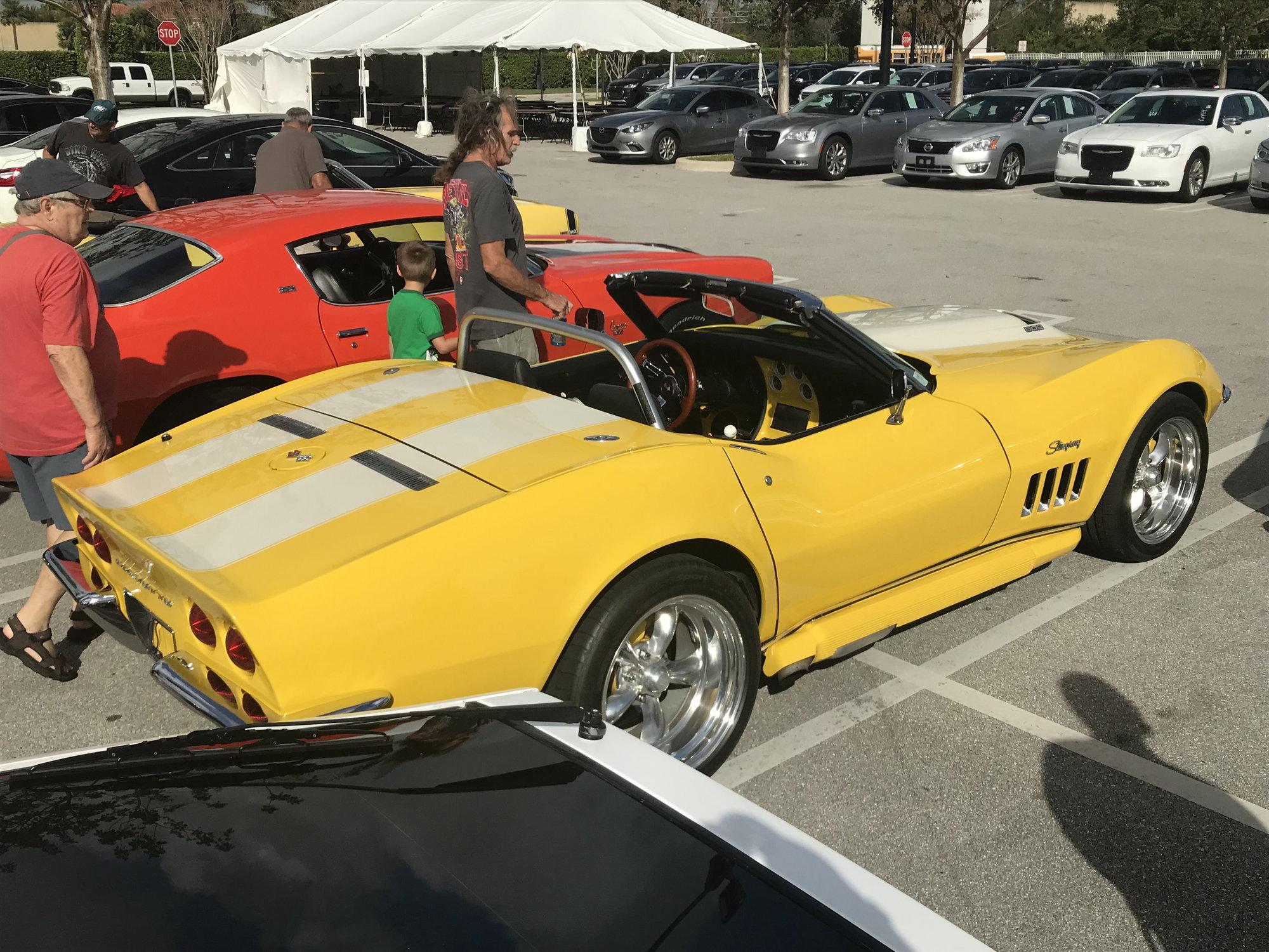 Cars and Coffee Palm Beach, FL - CorvetteForum - Chevrolet Corvette Forum Discussion