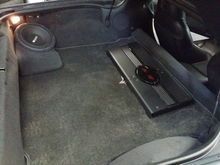 """Swapped out all bose components and upgraded every speaker to MB Quarts, along with a 10"""" Sub, 2 RF Amps, and a Pioneer Avic 8000nex Nav Deck. Sounds amazing"""