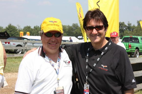 DigitalZ and the Honorary GTA Posse Captain Ron Fellows