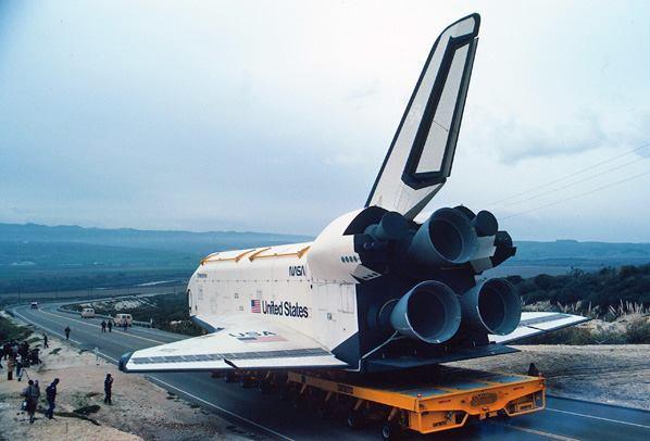 space shuttle landing at vandenberg - photo #26