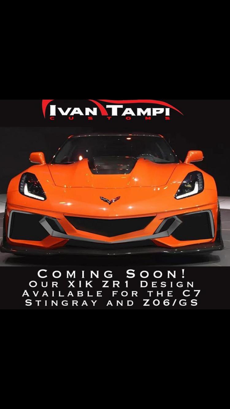 Ivan Tampi ZR1 bumper for C7, Z06, GS - CorvetteForum - Chevrolet Corvette Forum Discussion