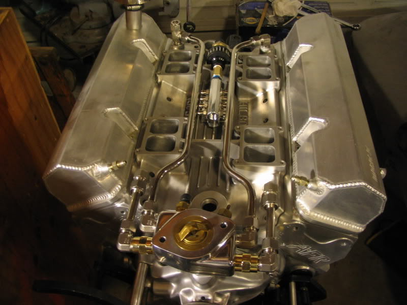 EFI Hilborn style intake on a SBC - CorvetteForum - Chevrolet