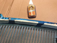 Glue.  Remember Gorilla glue expands. Mindful not o use too much but can trim excess.