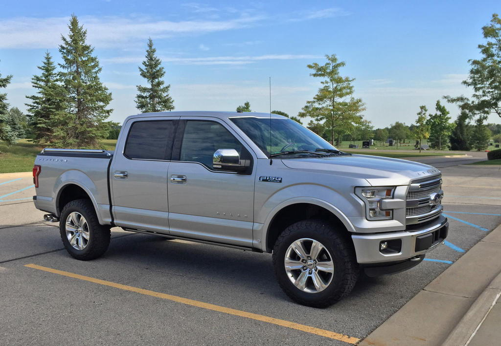 """F 65r20 >> Anyone use the 3"""" rear blocks with a 2.5"""" level up front? - Ford F150 Forum - Community of Ford ..."""
