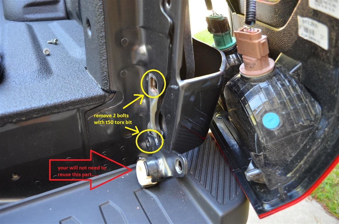 How To Install Oem Tailgate Damper Quot Tailgate Assist Quot For