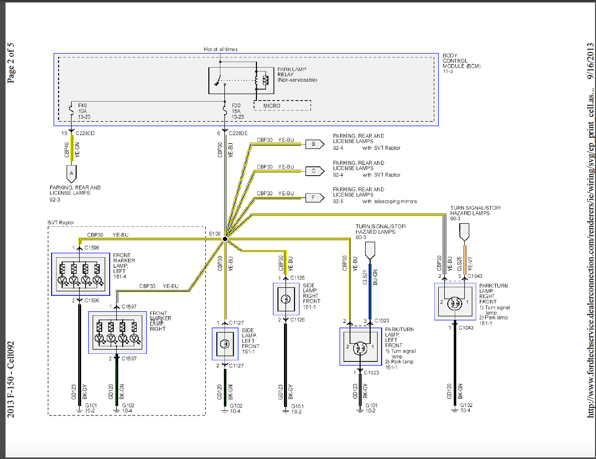 2012 F 150 Bcm Wiring Diagram - I have replace my body control ...