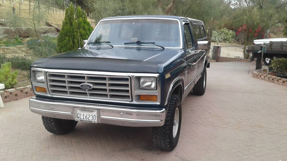 1986 ford f150 4x4 automatic transmission