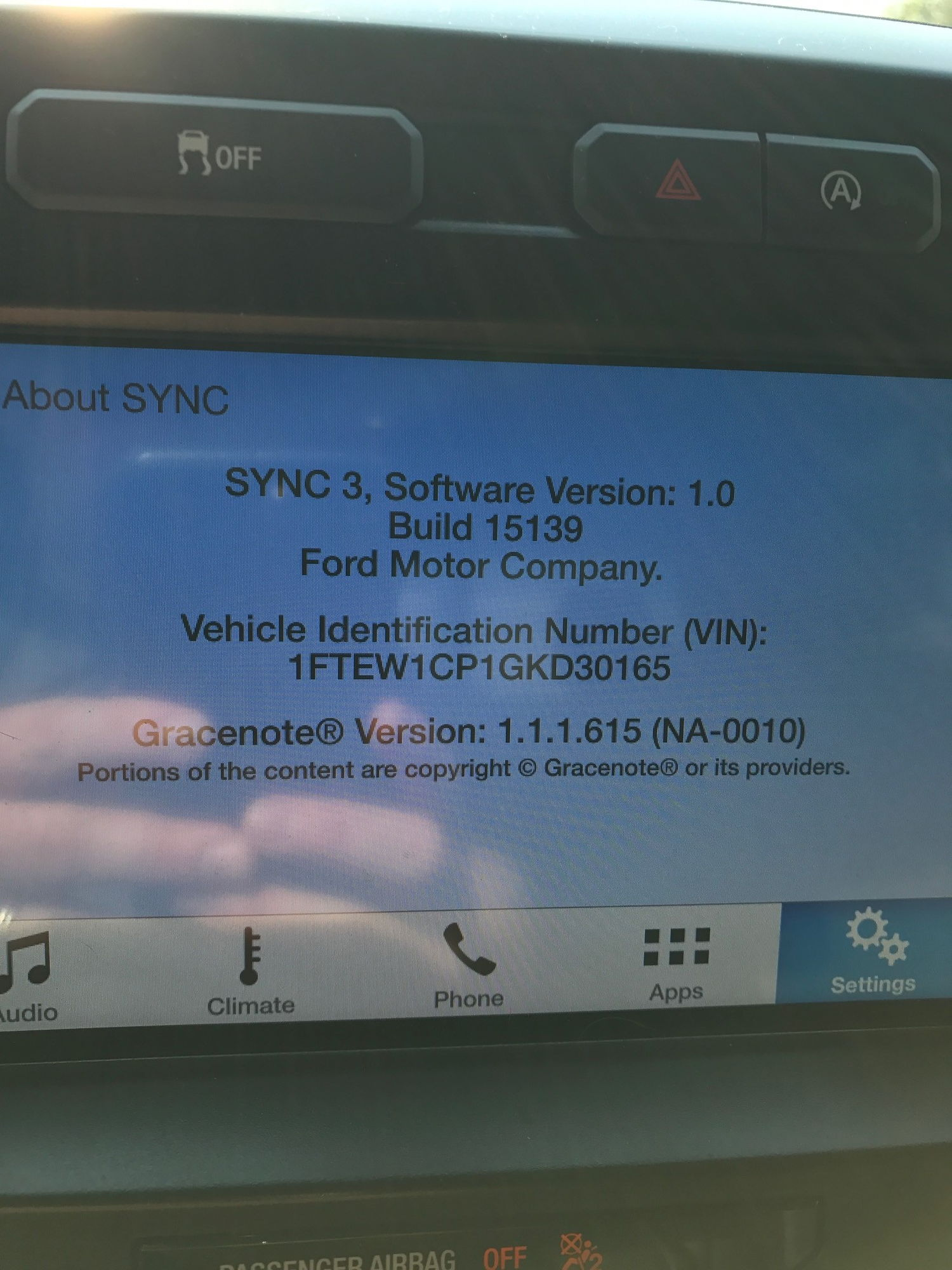 site and the customer service line state i have the latest version for my truck am i stuck due to my hardware or am i missing something or is ford
