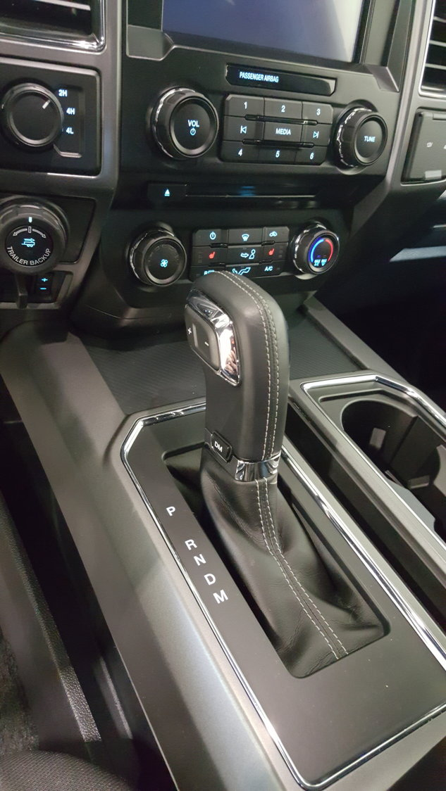 2018 F150 floor shifter swap to 2018 Expedition rotary style