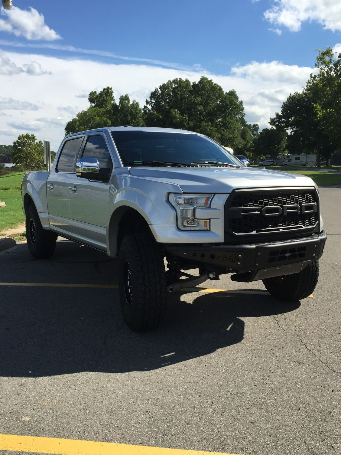 37x12 50x17 procomp at sport tires 17 procomp wheels procomp prototype mid travel suspension kit g2 back flip bed cover and bed rug corsa resonator delete
