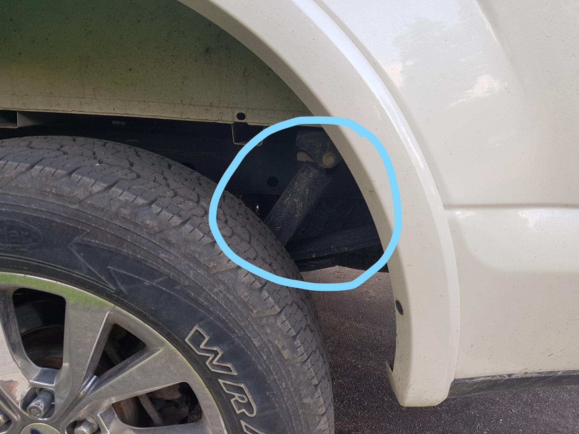 Rear shock leaking oil??? - Ford F150 Forum - Community of