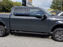 Pro Comp leveling kit with rear block and Fox 2.0 shocks installed..