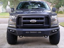 The XL grille looks even better with the new bumper and lift
