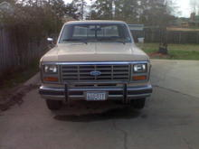 Exterior Image  Front of truck