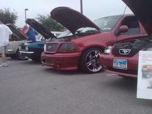 1st car show back