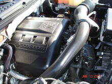 Engine Bay Side View