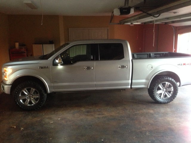 F150 Platinum With Leveling Kit >> 2.5 Inch Leveling Kit with 35 inch toyo mts? - Ford F150 Forum - Community of Ford Truck Fans