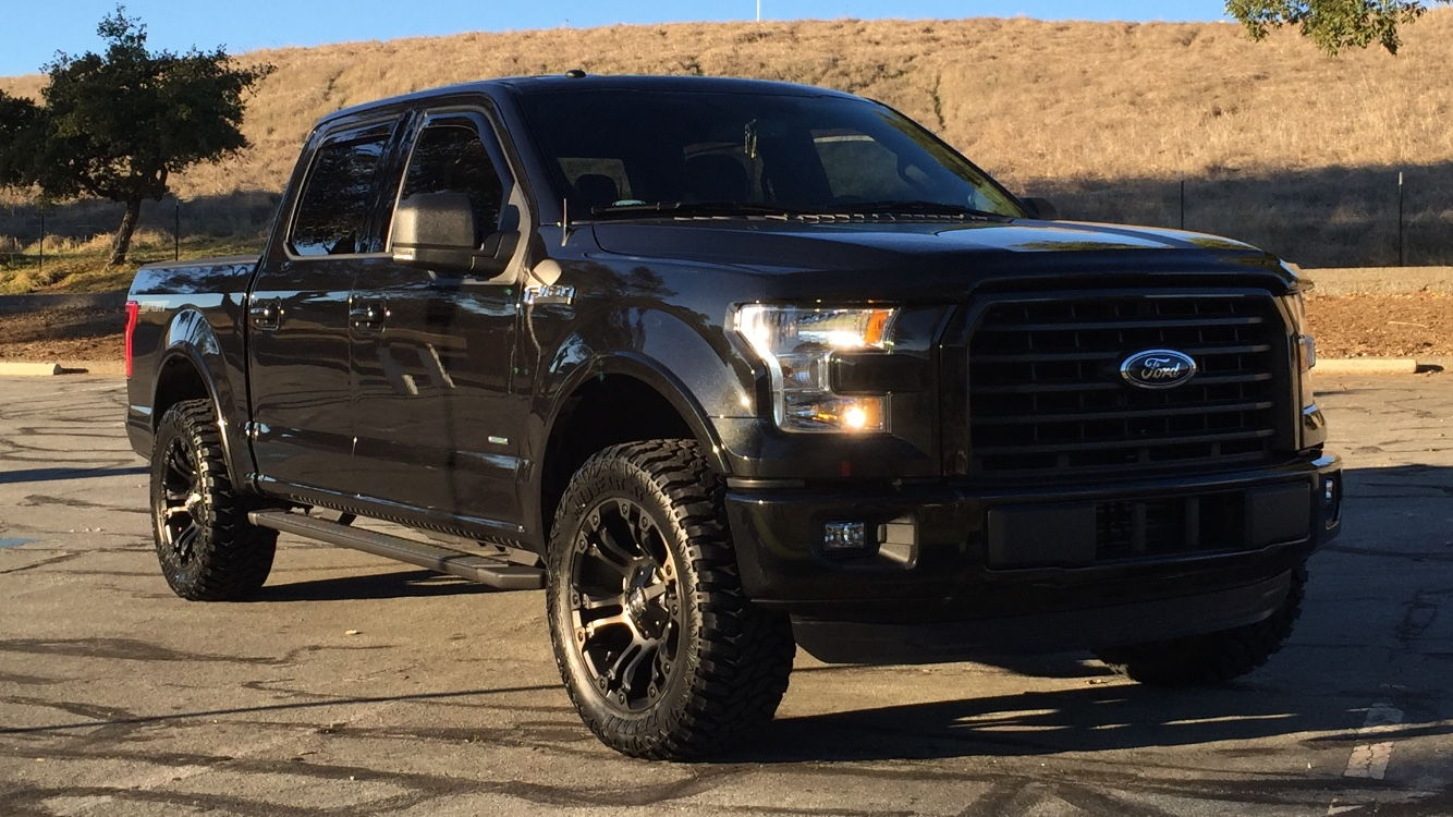 Let see your 2015 supercrew xlt sport lariat