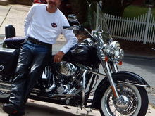 Me with my 2006 Softail