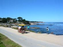Pacific Grove coastal path