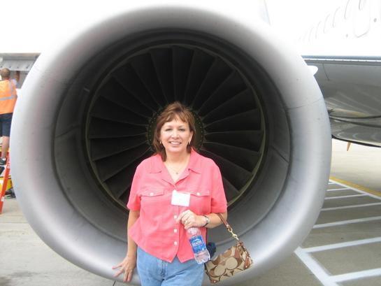 Traveller in 738 engine/CVG