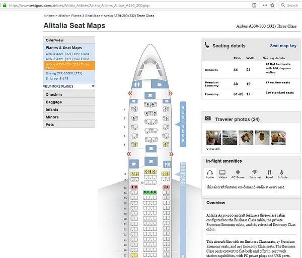 Disabled toilets on AZ long haul aircraft - FlyerTalk Forums