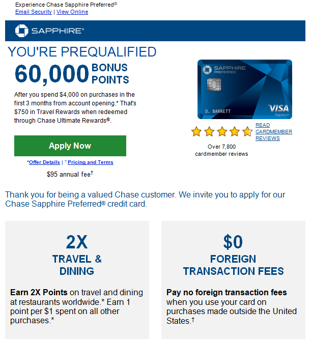 Applying For Chase PERSONAL Cards 2020-present