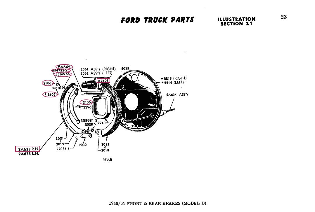 1948-1952 ford truck parts - page 17