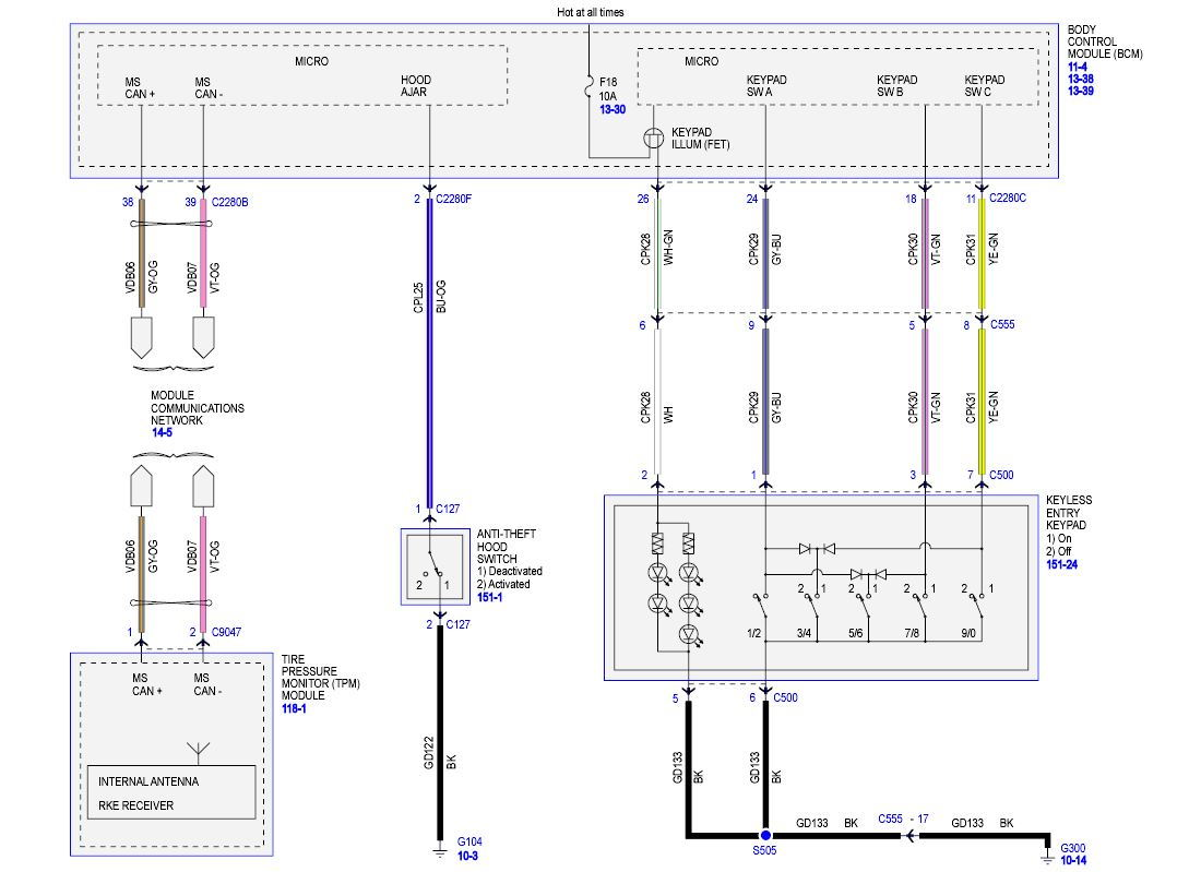 Here Is A Pic Of The Wiring Schematics So You Can Check It