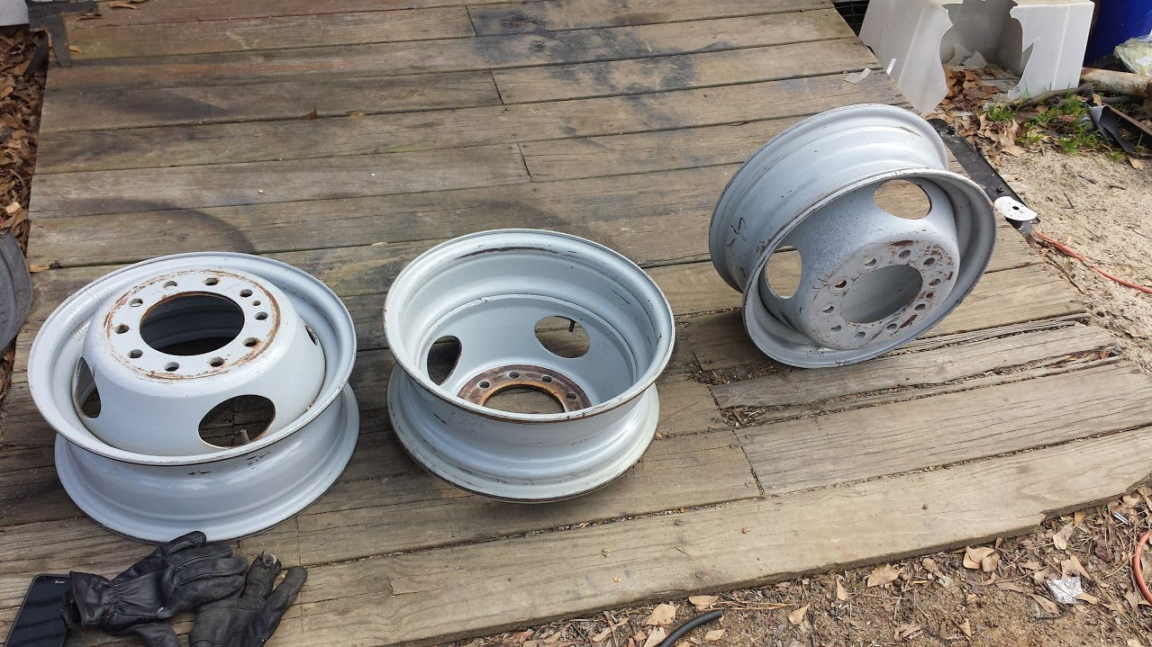 Diesel Gas Near Me >> Ford Dually 10 lug steel wheel 16x6 - Ford Truck Enthusiasts Forums