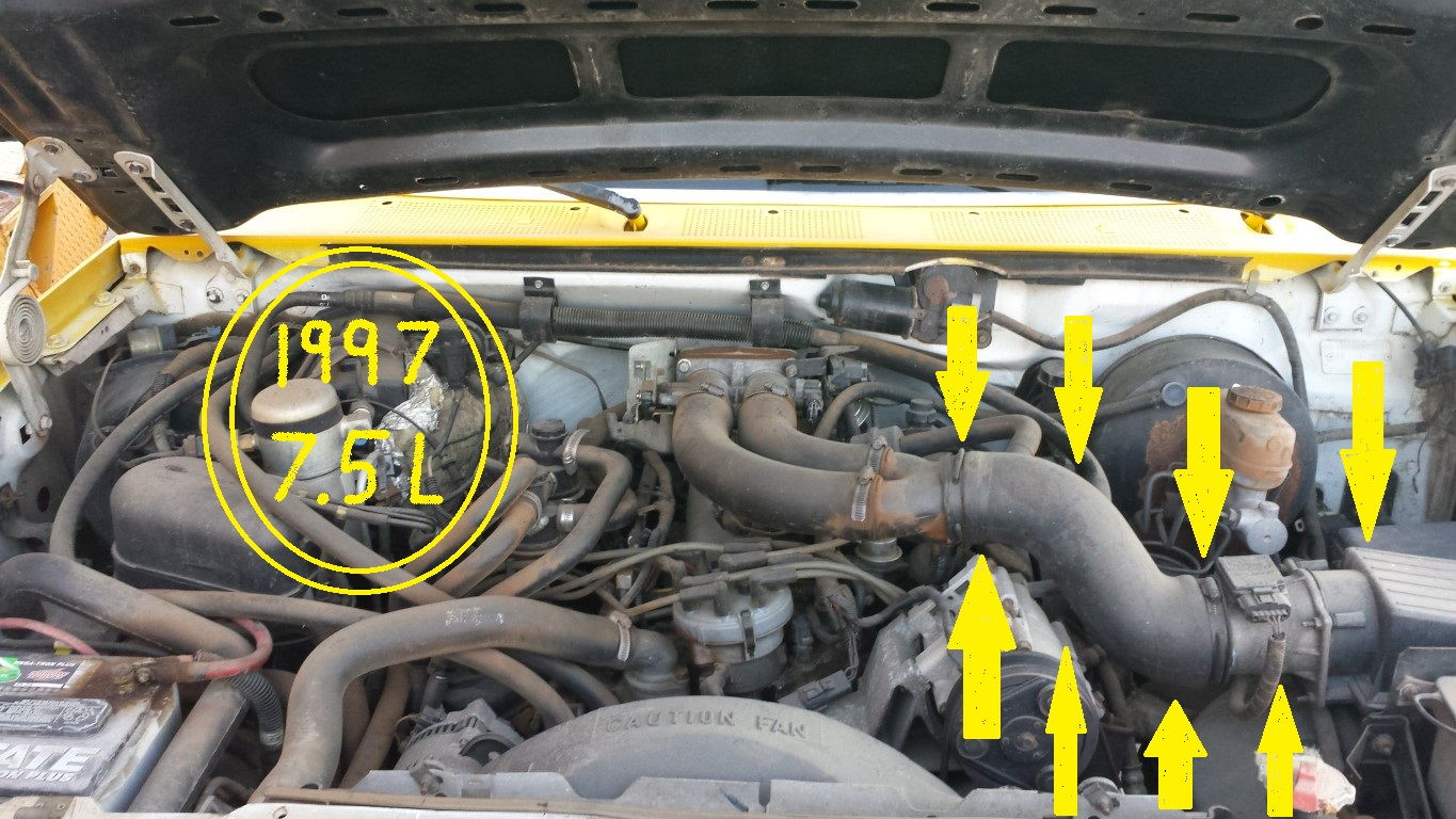 service manual   remove radiator  ford