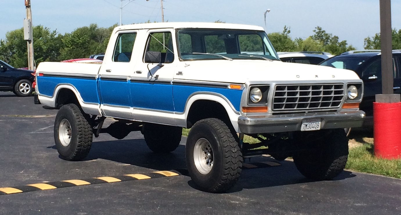 1978 f 250 crew cab a work in progress
