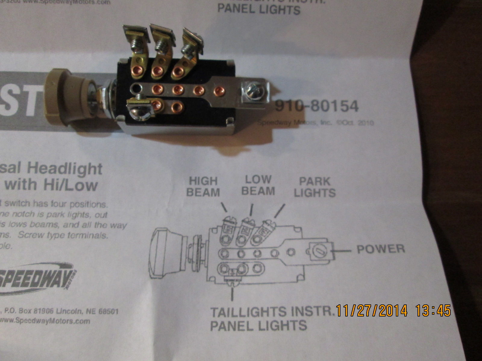 1956 ford headlight switch wiring diagram 1956 4 position headlight switch wiring ford truck enthusiasts forums on 1956 ford headlight switch wiring diagram