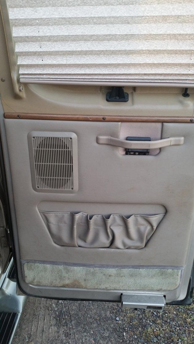 E150 Conversion van : Side door panel question - Ford Truck