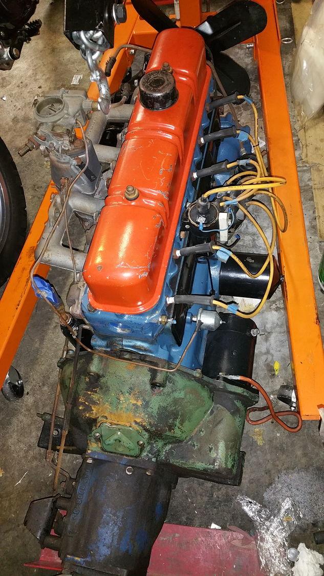 1952 Ford Six Cylinder Engine : Wanted cid ihv cylinder engine ford