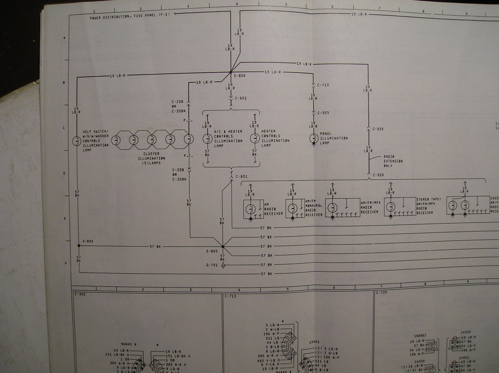 1982 f100 cluster connector wiring diagram - Ford Truck ...
