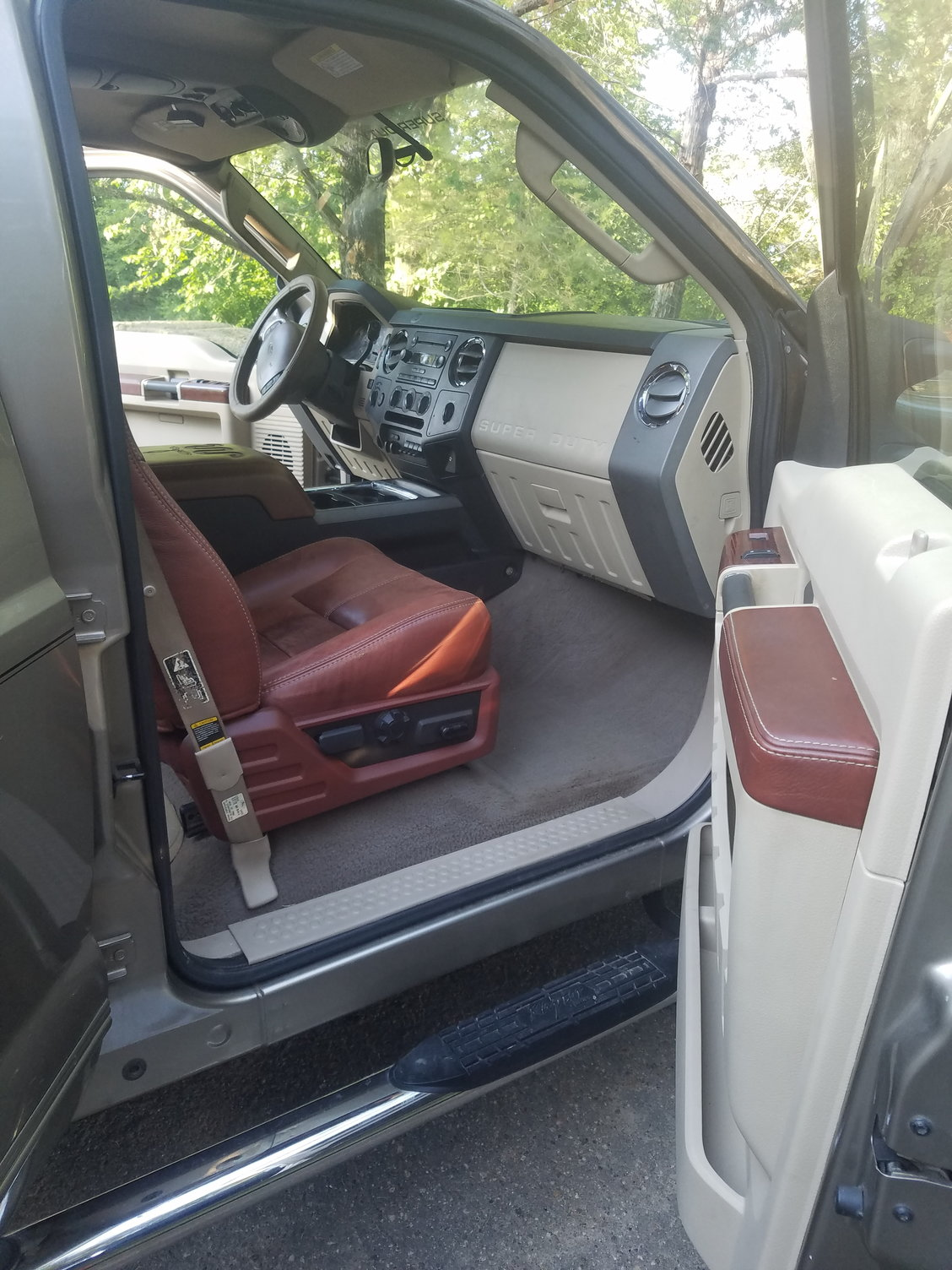 King Ranch Interior Swap Ford Truck Enthusiasts Forums